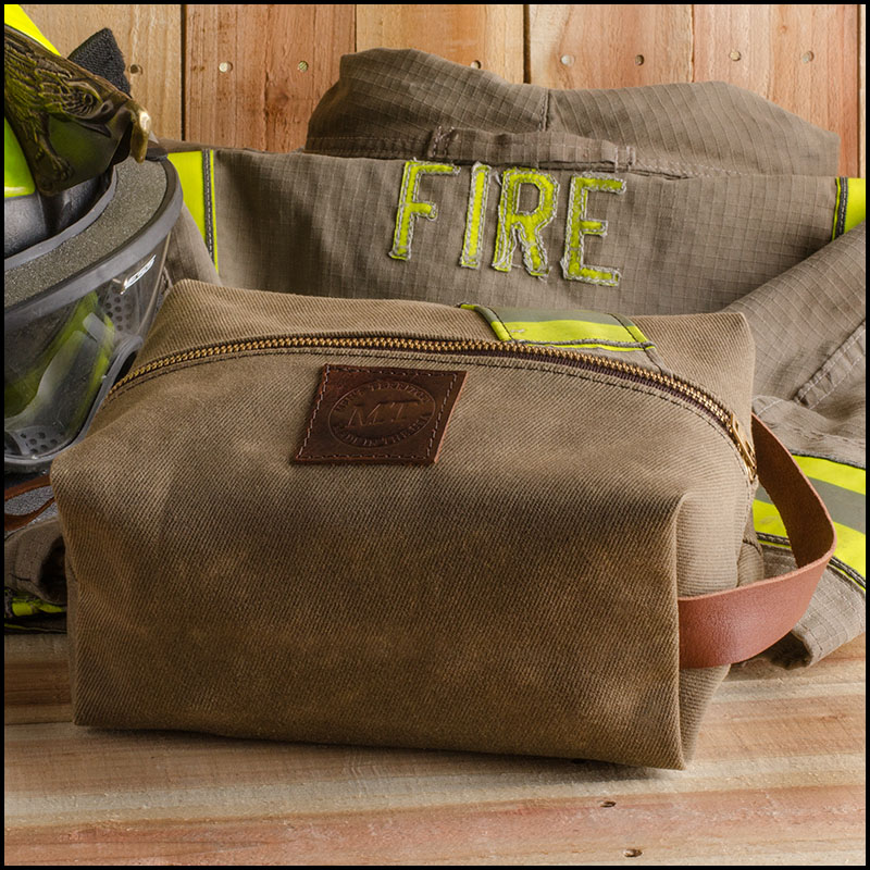 3d381a6e5224 Waxed Canvas Firefighter Dopp Kit – Men s Territory